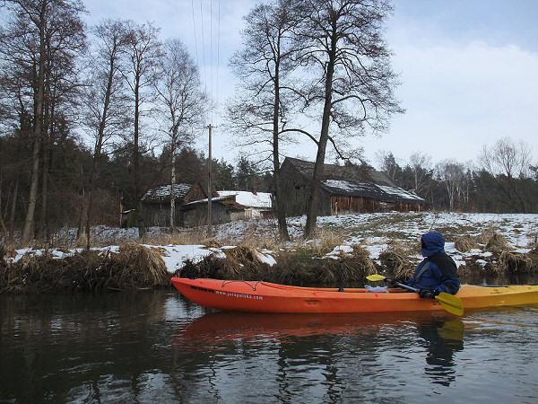 Zimowy spływ Pilicą, Tęgobórz - Przyłęk